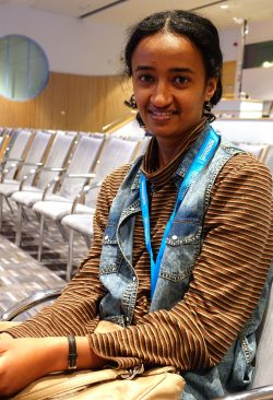 Helina Emeru, chief technology officer of Ethiopian research and education network (EthERnet).