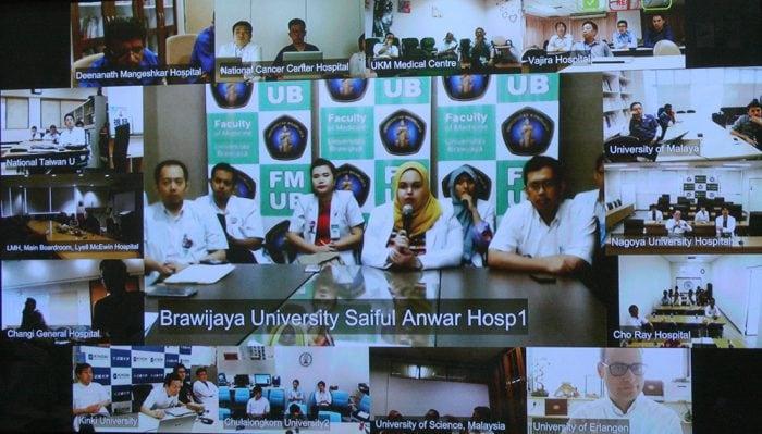 Telemedicine video conference
