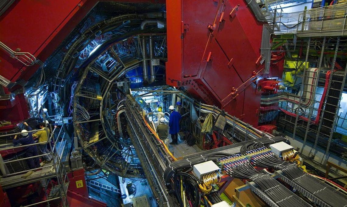 CERN-L3 magnet ALICE experiment