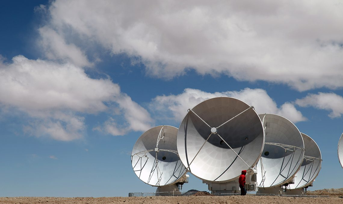 telescope array in chile