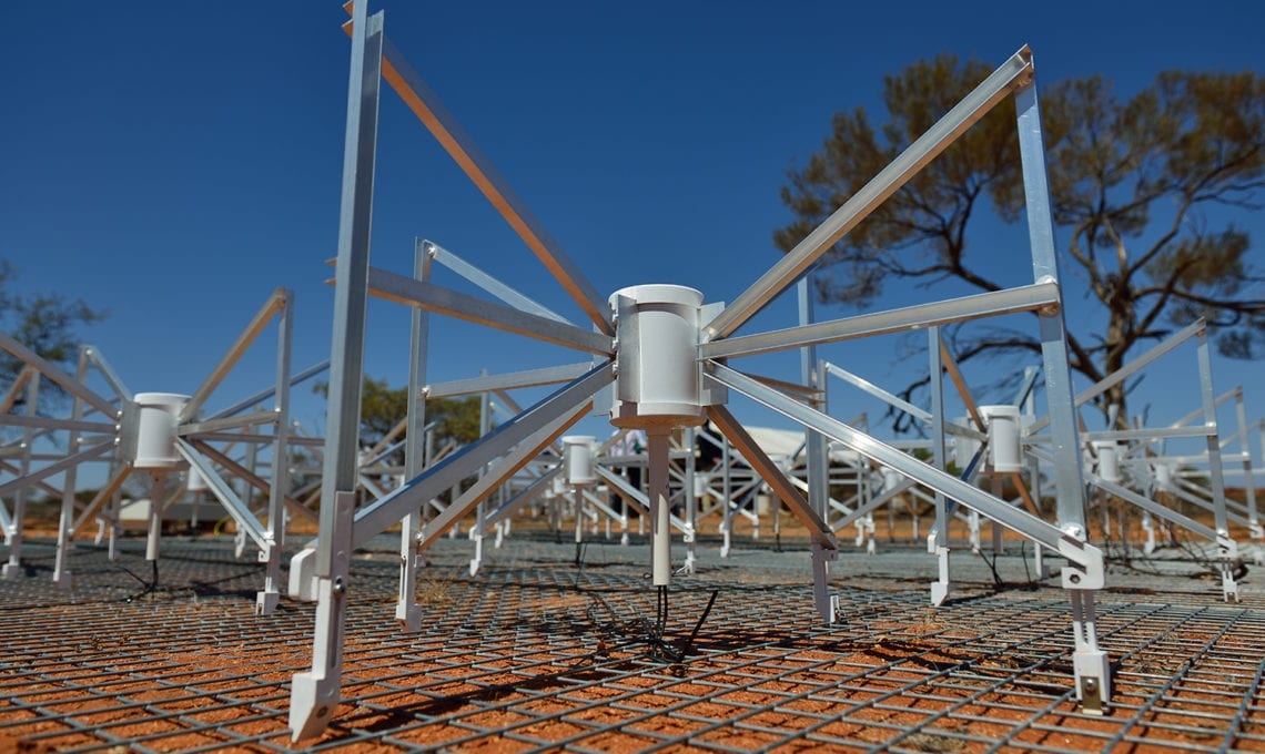 Murchison Widefield Array radio telescope