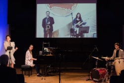 Cross-border concert showcases unique technology for teaching and performance