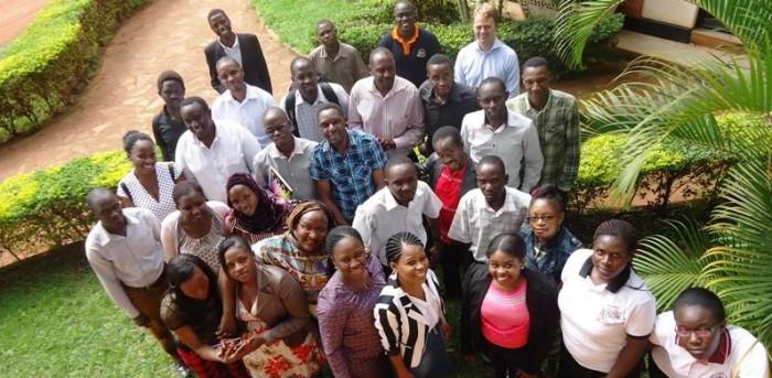 Uganda Christian Uni media studies class 2016
